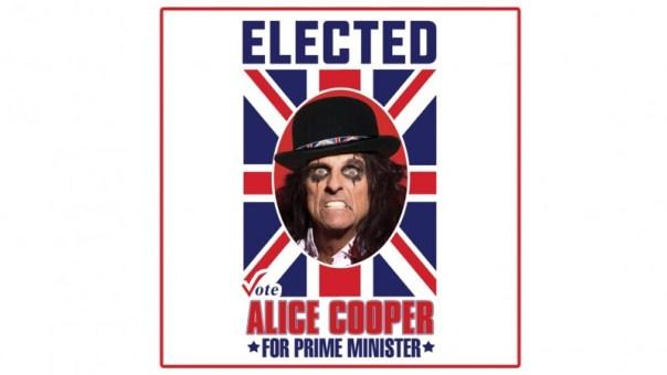 Alice Cooper prim ministru a