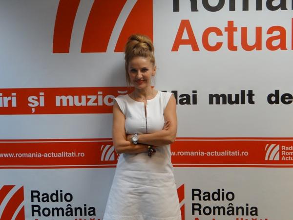 Beatrice Romanescu la Radio Romania 2016