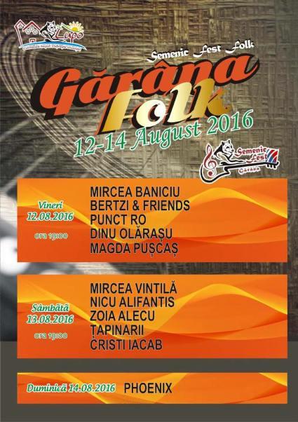 Garana folk festival 14 august a