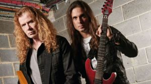 Kiko Loureiro si Dave Mustaine a