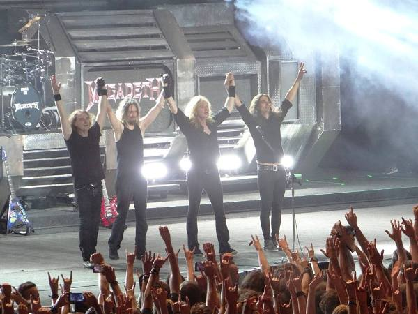 Megadeth la Arenele Romane 13.07.2016 a