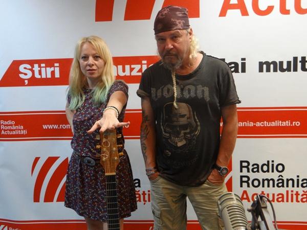 Olly de Quartz la Radio Romania 2016