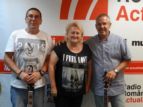 Vali Petcu, Angela Mariasiu si Daniel Iancu la Radio Romania 2016