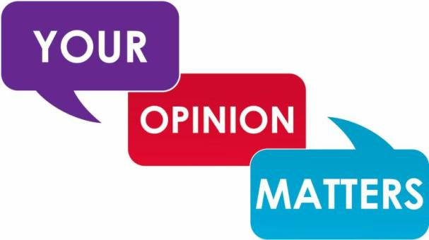 your opinion matters a