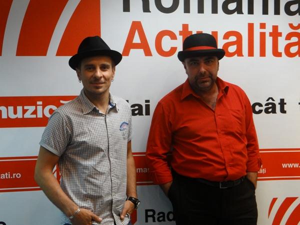 Florin Giuglea si Marcian Petrescu la Radio Romania