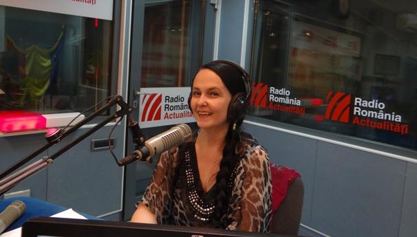 Ioana Sandu la Radio Romania