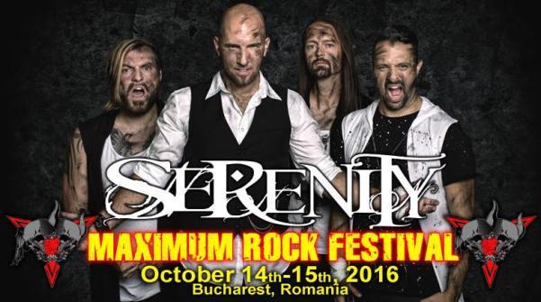 Serenity Maximum Rock Festival 15 octombrie