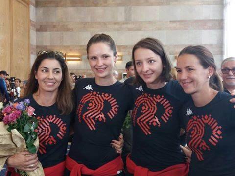 echipa de spada a Romaniei 2016