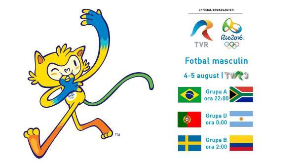 meciuri Jocurile Olimpice Rio TVR 3 a