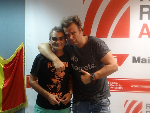 Dan Helciug si Emil Chican la Radio Romania