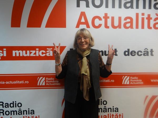 Ileana Lucaciu la Radio Romania