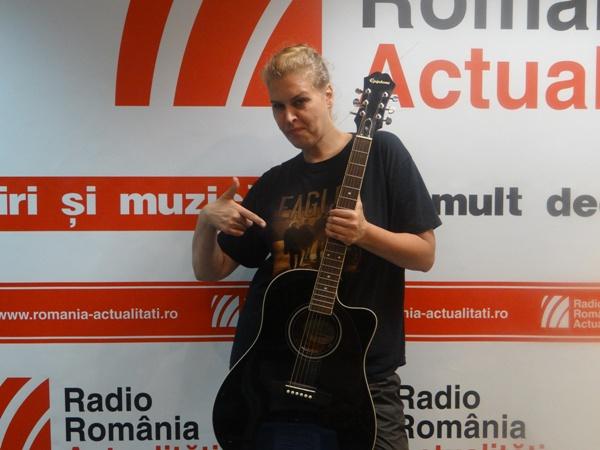 Maria Magdalena Danaila la Radio Romania
