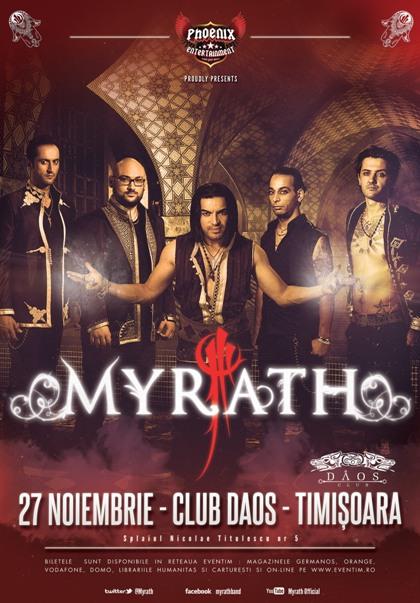 Myrath 27 noiembrie