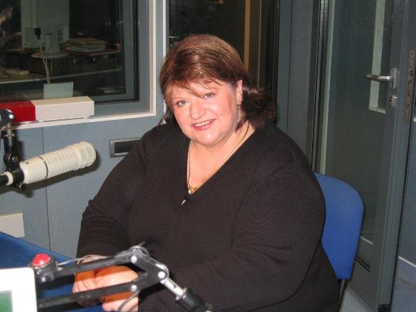 Paunita Ionescu la Radio Romania 2008