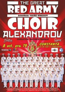 Red Army Choir 8 octombrie