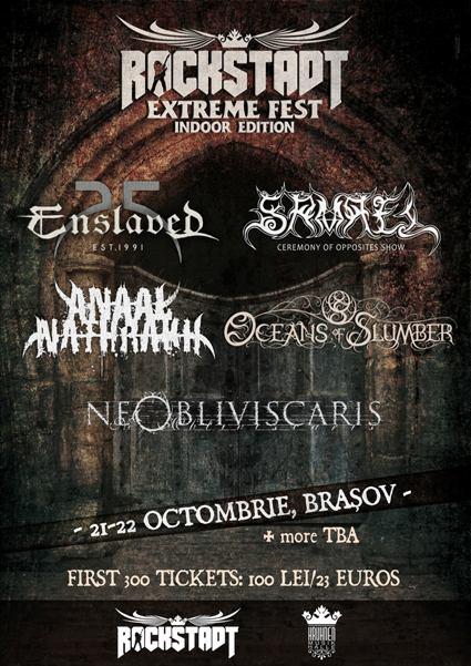 Rockstadt Extreme Fest 22 octombrie