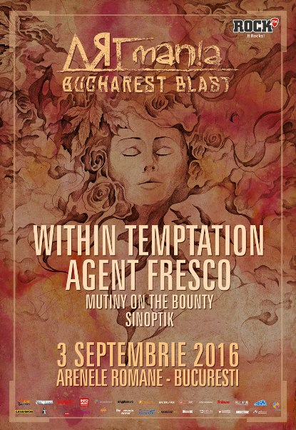 Within Temptation 3 septembrie