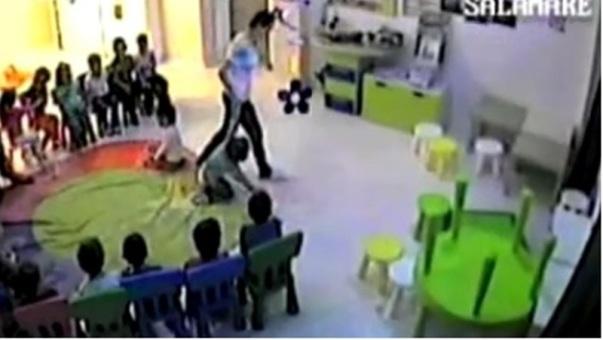 gradinita constanta copii agresati a