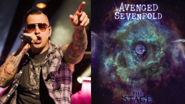 AVENGED SEVENFOLD THE STAGE a