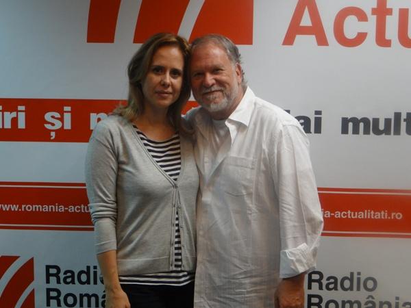 Antonio si Mihaela Billic la Radio Romania 2016