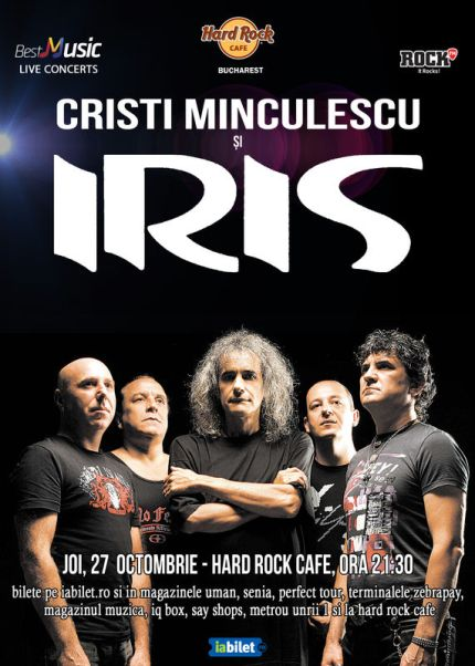Cristi Minculescu si IRIS 27 octombrie