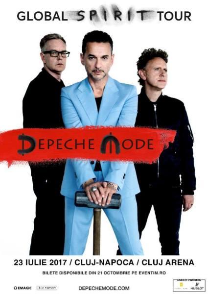 Depeche Mode 23 iulie 2017