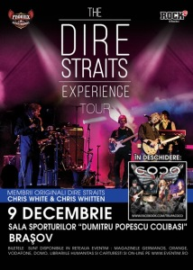 Dire Straits Experience brasov 9 decembrie