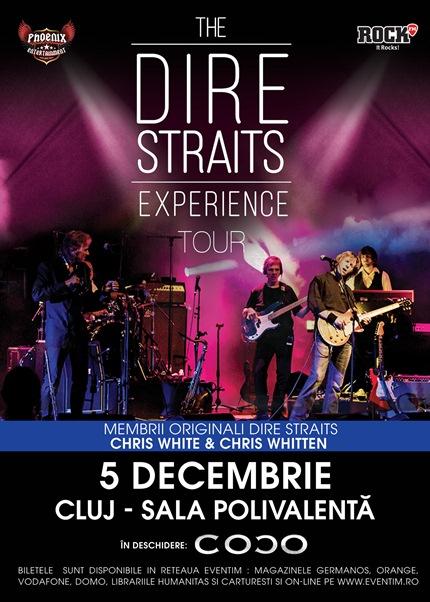 Dire Straits Experience cluj napoca 5 decembrie