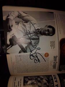 autograf Steve Cropper