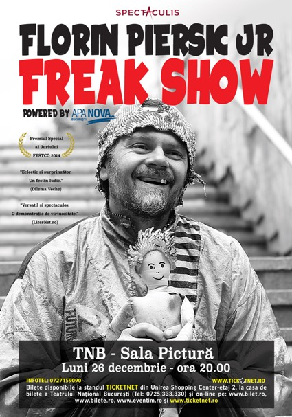 Freak Show 26 decembrie