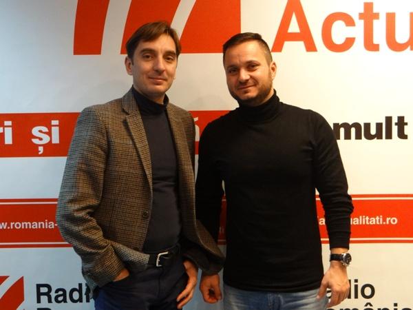 Ionuț Ungureanu și Alexandru Rotaru (Provincialii) la Radio Romania