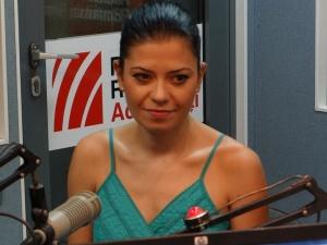 Silvia Stefanescu la Radio Romania