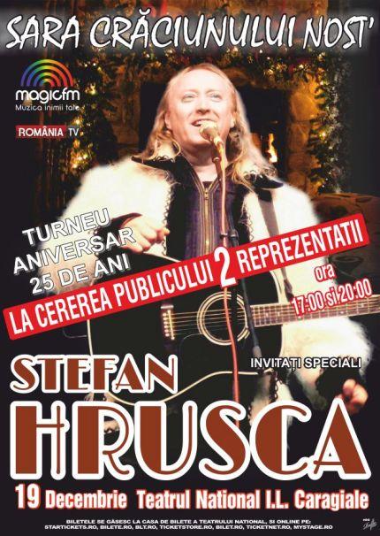Stefan Hrusca 2 concerte 19 decembrie