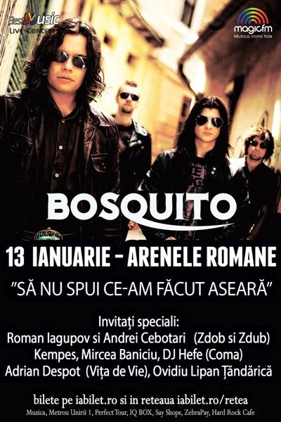 Bosquito 13 ianuarie