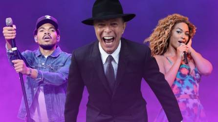 Chance the Rapper, David Bowie and Beyonce