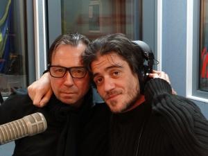 David Pisttrui Terminal White si Silviu Munteanu la Radio Romania
