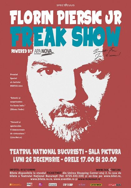 Freak Show 26 decembrie