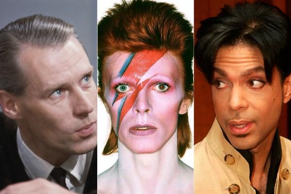 George Martin David Bowie si Prince