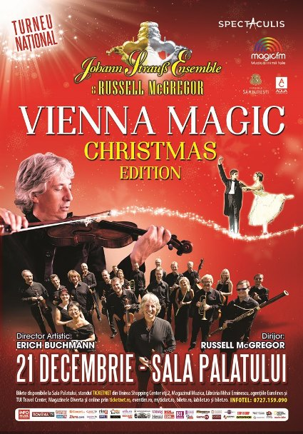 Johann Strauss Ensemble 21 decembrie