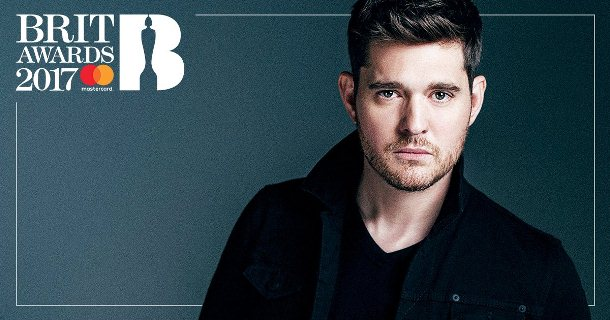 Michael Buble brit awards a
