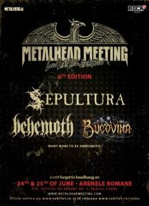 Sepultura Metalhead Meeting 25 iunie 2017