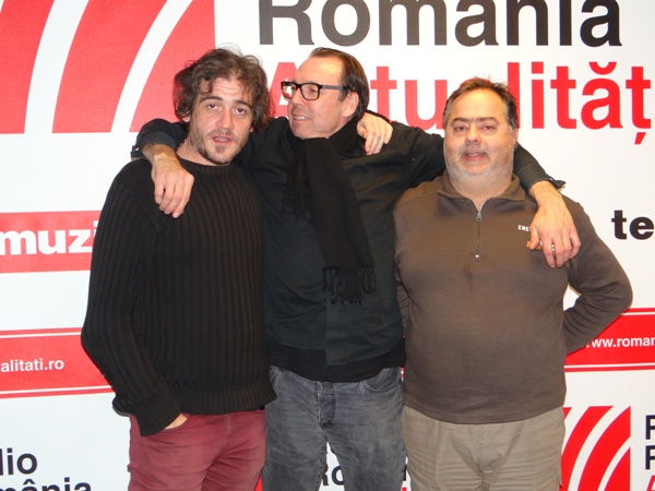 Terminal White Silviu Munteanu si Gabi Pipai Andries la Radio Romania 2016