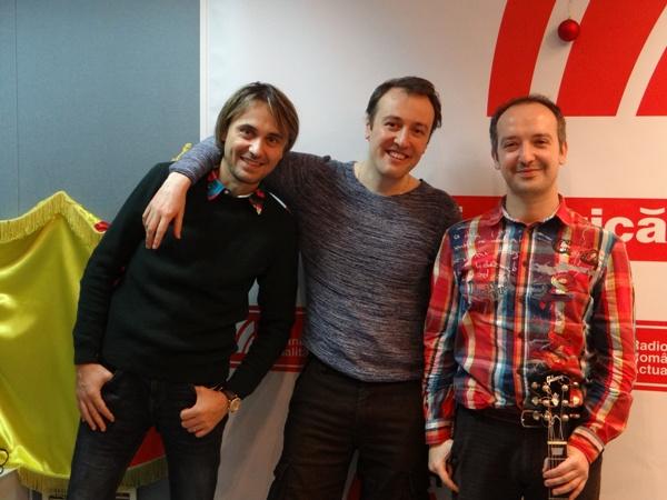 Xenti Runceanu Calin Geambasu Vlad Cretu la Radio Romania 2016