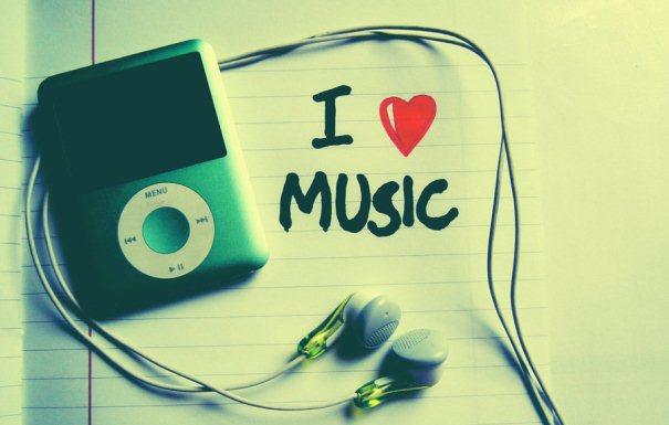 i love music a