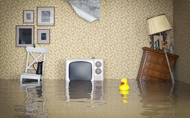 inundatie bloc