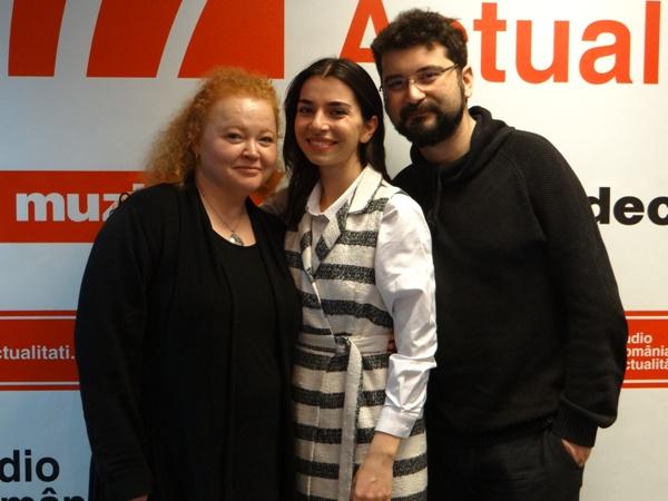 Alexandra Usurelu, Narcisa Suciu si Bobby Stoica la Radio Romania 2017
