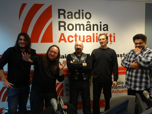 Mike Godoroja & Blue Spirit la Radio Romania