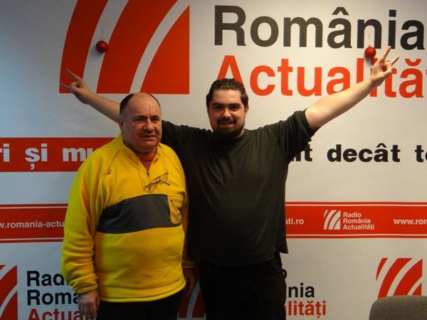 Nelu Stratone si Andrei Ruse la Radio Romania