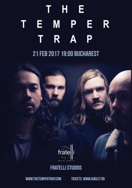 The Temper Trap 21 februarie