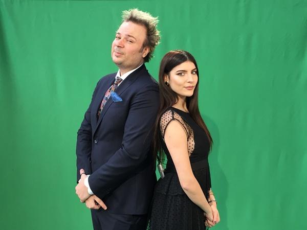 Dan Helciug si Ioana Voicu a
